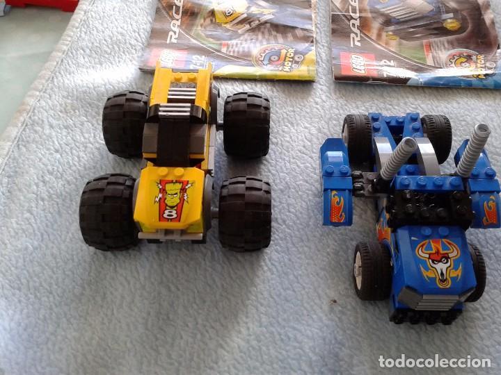 Juegos construcción - Lego: lego racers 8670 y 8668.jump master, side rider 55 - Foto 3 - 75102367