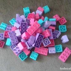Juegos construcción - Lego: LOTE 78 PIEZAS CONSTRUCCIÓN INFANTIL - MEGABLOKS - NO LEGO DUPLO - BUEN ESTADO - CON BOLSA ORIGINAL. Lote 75296647