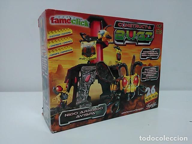 NIDO ARMADO AVISPA - CONSTRUCT-A BUGZ - FAMOCLICK - NUEVO (Juguetes - Construcción - Lego)