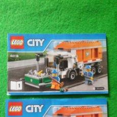 Juegos construcción - Lego: 2 MANUALES DE INSTRUCCIONES DE LEGO 60118 CITY. Lote 76175203