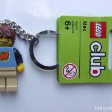 Juegos construcción - Lego: LLAVERO LEGO MINIFIGURA DE MAX 852856 (EXCLUSIVO LEGO CLUB). Lote 108933478