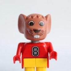 Juegos construcción - Lego: LEGO FABULAND FIGURA RATON (X596C02). SETS 3659, 3663,3668, 3683, 3719. VINTAGE. DESCATALOGADOS.. Lote 142719524