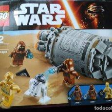 Juegos construcción - Lego: LEGO STAR WARS - CÁPSULA DE ESCAPE DROID - 75136. Lote 76795095