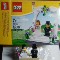 Juegos construcción - Lego: LEGO PAREJA DE NOVIOS (BODA). REFERENCIA 40165. USADO. EN BUEN ESTADO.. Lote 76809363