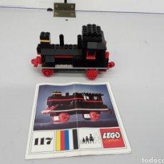 Juegos construcción - Lego: MÁQUINA DE TREN. Lote 76933703