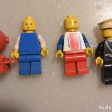 Juegos construcción - Lego: LOTE 4 MUÑECOS LEGO AÑOS 70. Lote 76980809