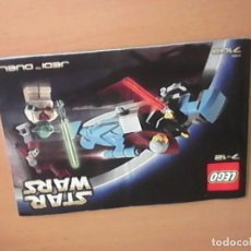 Juegos construcción - Lego: MANUAL DE INSTRUCCION LEGO 7103 JEDI TM DUEL 7-8 AÑOS. Lote 77453177