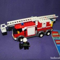Juegos construcción - Lego: CAMION DE BOMBEROS LEGO CITY 7239. Lote 78460817