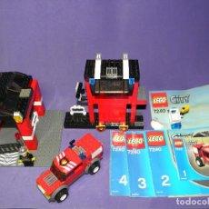 Juegos construcción - Lego: ESTACION DE BOMBEROS LEGO CITY 7240. Lote 78460997