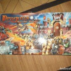 Juegos construcción - Lego: MEGA BLOKS Nº 9898.DRAGONS KRYSTAL.CASTLE DRAIGAR.CASTILLO DRAIGAR.485 PIEZAS.. Lote 78647605