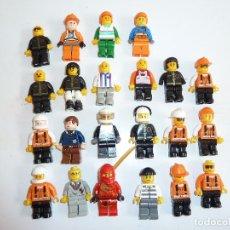 Juegos construcción - Lego: LOTE DE 22 MINI FIGURAS DE LEGO. Lote 80572134