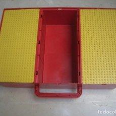 Juegos construcción - Lego: CAJA LEGO PARA GUARDAR PIEZAS (FALTA UNA TAPA). Lote 82470236