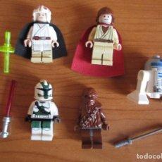 Juegos construcción - Lego: LEGO: LOTE FIGURAS LEGO STAR WARS. Lote 82638124