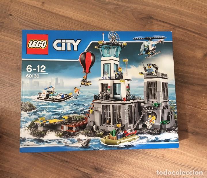 Lego City Prision De La Isla 60130 Comprar Juegos Construccion