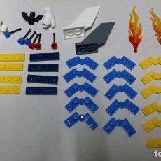 Juegos construcción - Lego: LOTE PIEZAS LEGO Y FIGURA. Lote 84303408