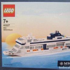 Juegos construcción - Lego: LEGO 40227 EXCLUSIVO DE MSC UNICO EN TC. Lote 84361380