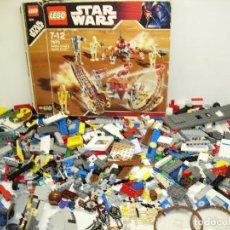Juegos construcción - Lego: LOTE DE 1600 G. LEGO CON FIGURAS, ALGUNAS DE STAR WARS. Lote 84616316