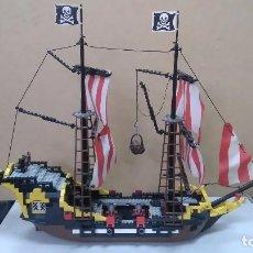 Juegos construcción - Lego: LEGO BARCO PIRATA REF.6285, BLACK SEAS BARRACUDA.1989. Lote 86290108