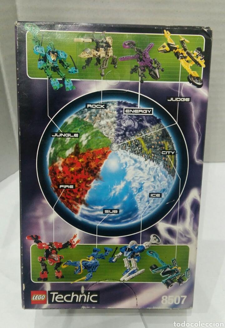 Juegos construcción - Lego: LEGO ENERGY SLIZER TECHNIC 8507. NUEVO EN CAJA. 1999. - Foto 3 - 86456052
