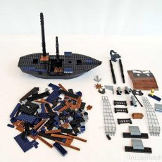 Juegos construcción - Lego: LOTE DE PIEZAS JUEGO DE CONSTRUCCIÓN COBI BARCO PIRATA, TIPO LEGO. Lote 86764996
