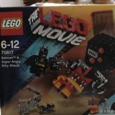 Juegos construcción - Lego: LEGO THE MOVIE-BATMAN SUPER ANGRY-70817-PRECINTADO. Lote 86881802