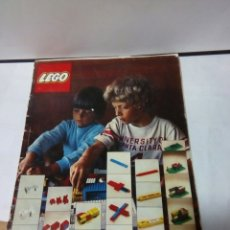 Juegos construcción - Lego: ANTIGUAS INSTRUCCIONES LEGO DE 1973. Lote 87670660