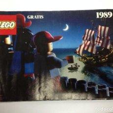 Juegos construcción - Lego: CATALOGO LEGO DE 1989 TIENE 28 PAGINAS . Lote 88333776