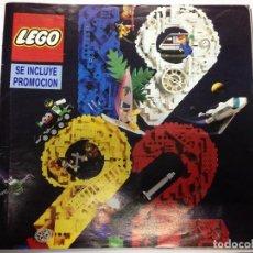Juegos construcción - Lego: CATALOGO LEGO DE 1992 TIENE 48 PAGINAS . Lote 88334060