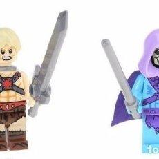 Juegos construcción - Lego: LOTE DE 2 FIGURAS MASTERS DEL UNIVERSO MOTU. Lote 88850732