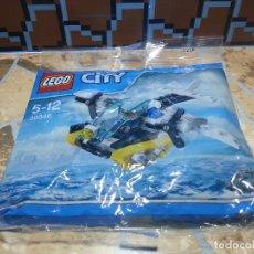 Juegos construcción - Lego: LEGO CITY AVION BOLSA SIN ABRIR. Lote 89638120