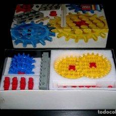 Juegos construcción - Lego: LEGO SYSTEM VINTAGE REF. 802, ENGRANAJES GEAR SUPPLEMENT, PRECINTADO SIN USO. ORIGINAL AÑO 1970.. Lote 90473904