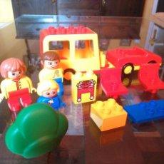 Juegos construcción - Lego: CAMPING DUPLO AÑO 1992. Lote 91302910