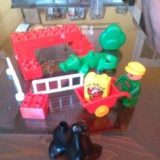 Juegos construcción - Lego: COCODRILO Y FOCA DUPLO AÑO 1992. Lote 91303275