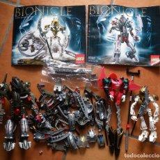Juegos construcción - Lego: LOTE LEGO BIONICLE.. Lote 91695775
