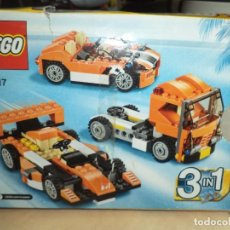 Juegos construcción - Lego: LEGO CREATOR 3 IN 1 REF.31017.CAMIÓN COCHE GT Y FÓRMULA 1.. Lote 91740335