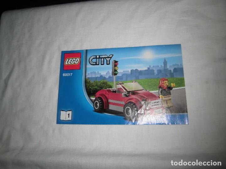 LEGO CITY 60017.-.MANUAL DE MONTAJE (Juguetes - Construcción - Lego)