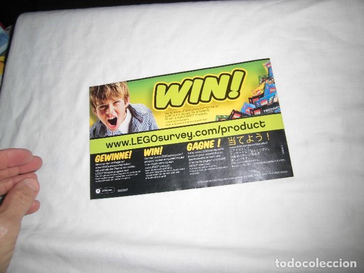 Juegos construcción - Lego: LEGO CITY 60017.-.MANUAL DE MONTAJE - Foto 4 - 92371160