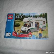 Juegos construcción - Lego: LEGO CITY 60057.-.MANUAL DE MONTAJE. Lote 92371585