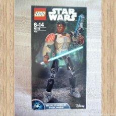 Juegos construcción - Lego: FIGURA DE FINN LEGO DE STAR WARS, A ESTRENAR. Lote 101000884