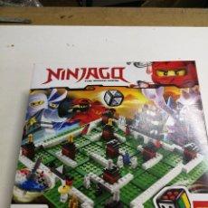Juegos construcción - Lego: LEGO NINJAGO THE BOARD GAME. Lote 94976091