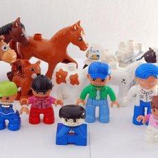 Juegos construcción - Lego: LOTE 19 PIEZAS LEGO DUPLO. FIGURAS JESSIE DE TOY STORY Y OTRAS, ANIMALES, MOTO DE POLICÍA, ETC.. Lote 95140247