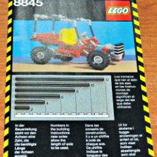 Juegos construcción - Lego: INSTRUCCIONES DE MONTAJE DEL MODELO 8845 DE LEGO.. Lote 95428431