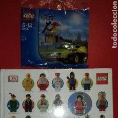 Juegos construcción - Lego: MINIFIGURAS LEGO AÑO A AÑO.UNA HISTORIA VISUAL (+REGALO LEGO CITY). Lote 95691440