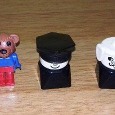 Juegos construcción - Lego: 3 FIGURAS LEGO.. Lote 95976047