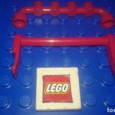 Juegos construcción - Lego: LEGO STAR WARS . SPACE . CITY 2 BARRAS O VARANDILLAS ROJAS. Lote 96112475