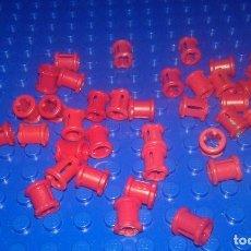 Juegos construcción - Lego: LEGO STAR WARS . SPACE . CITY LOTE DE CONECTORES DE VARILLAS PEQUEÑAS ROJAS. Lote 96112635