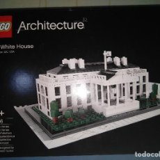 Juegos construcción - Lego: CAJA NUEVA DE LEGO LA CASA BLANCA ARQUITECTURA ARCCHITECTUE LEGOS NUEVO THE WHITE HOUSE . Lote 96367867