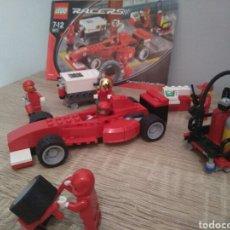 Juegos construcción - Lego: LEGO RACERS FERRARI 8673. Lote 96753868