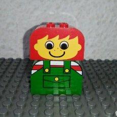 Juegos construcción - Lego: MINIFIGURA ORIGINAL DE LEGO BASIC 2229. Lote 96915332