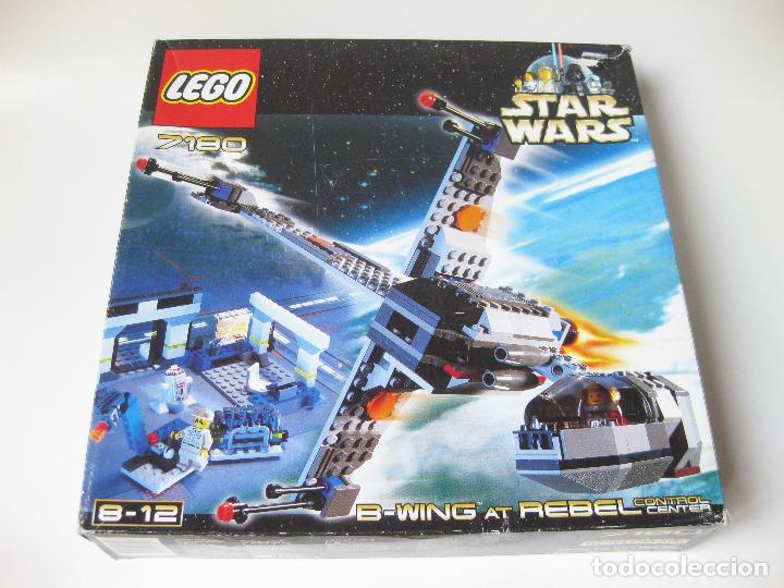 SET O CAJA LEGO REF. 7180 STAR WARS - B-WING AT REBEL CONTROL CENTER - CON INSTRUCCIONES (Juguetes - Construcción - Lego)